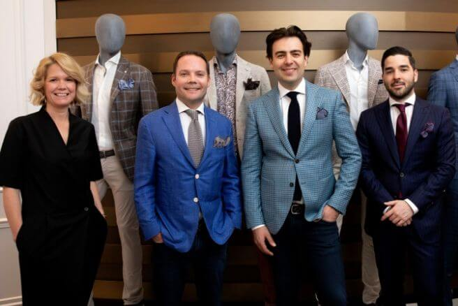 CLUSIER menswear team