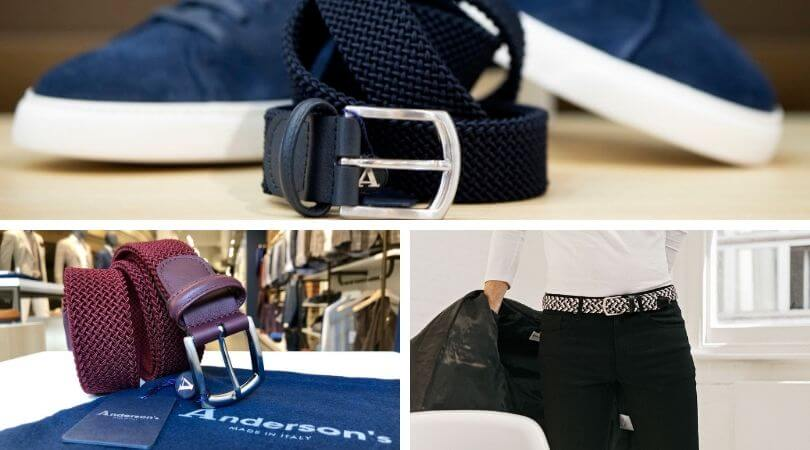 Andersons belts @CLUSIER