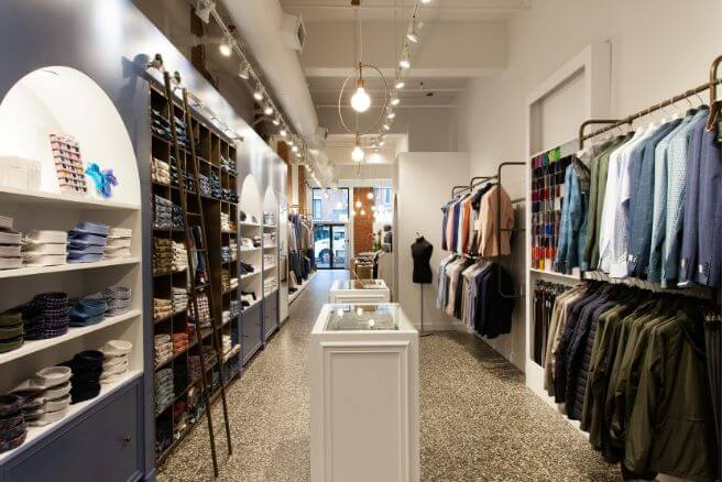 CLUSIER menswear 432 rue McGill