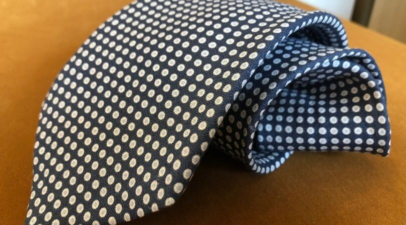 Father's Day Paolo Albizzati tie @CLUSIER