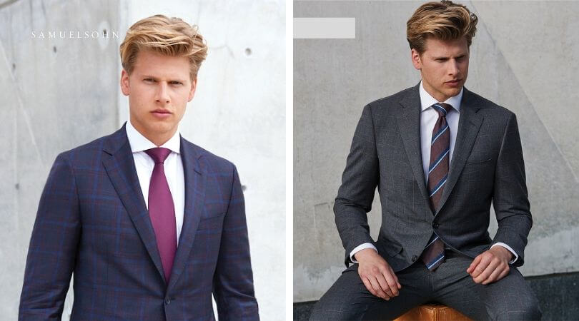 Samuelsohn suiting at CLUSIER