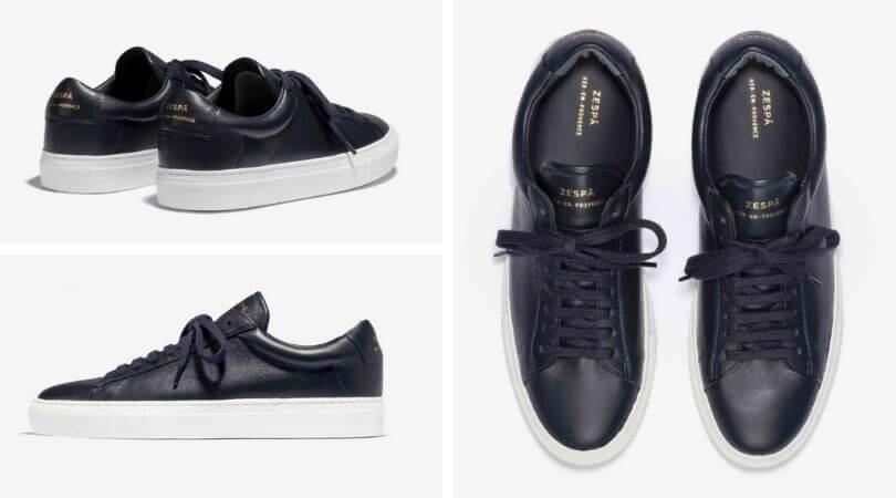 Zespa Sneakers ZSP4.HGH NAPPA NAVY
