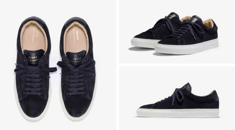 Sneakers Zespa ZSP4.HGH SUEDE NAVY